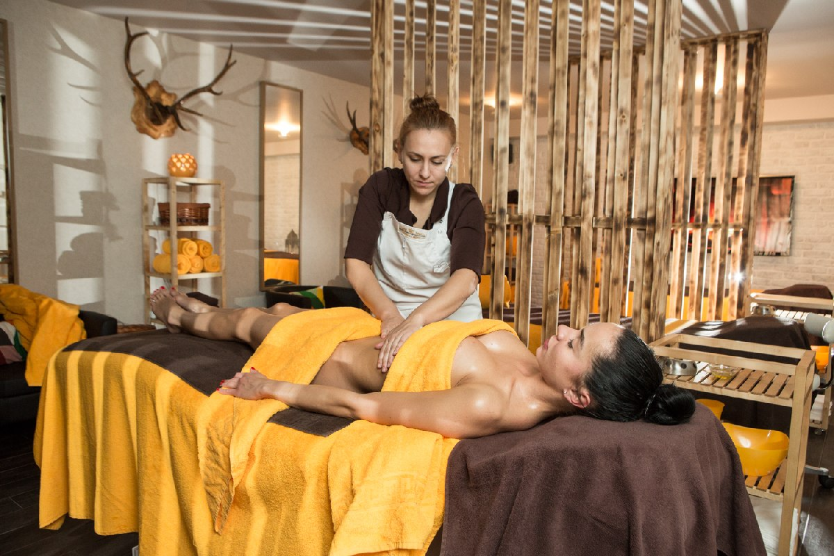 Spa treatments at the hotel