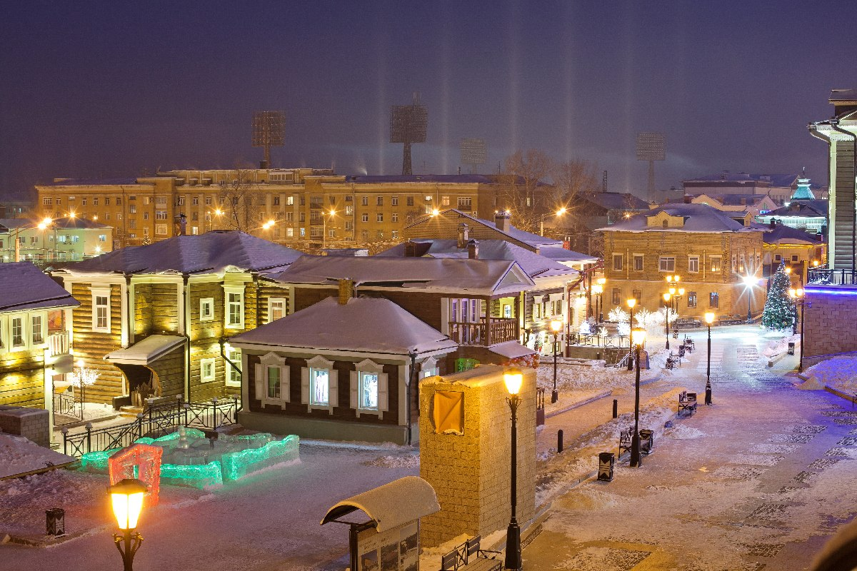 Evening Irkutsk